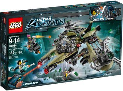 LEGO Agents 70164 Úder hurikánu