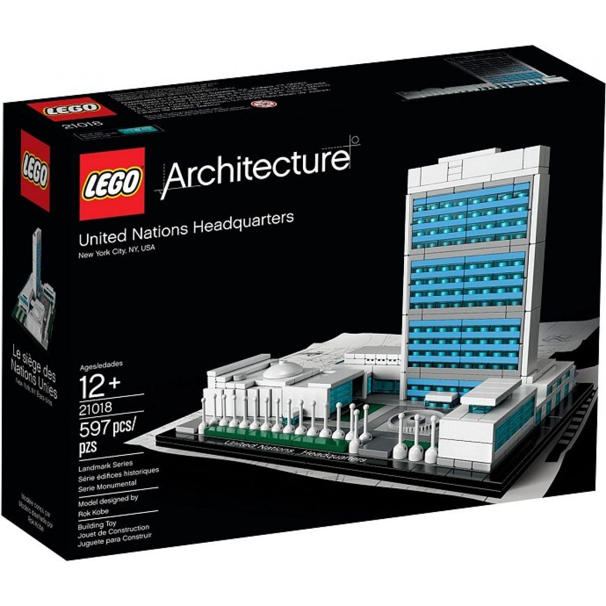 LEGO Architecture 21018 Ústředí spojených národů