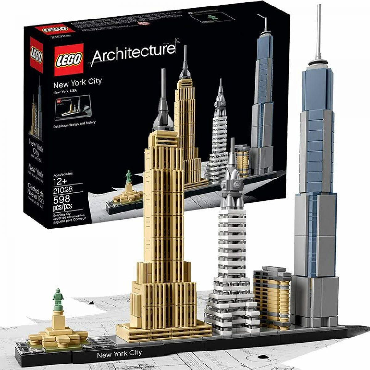 LEGO® Architecture 21028 New York City