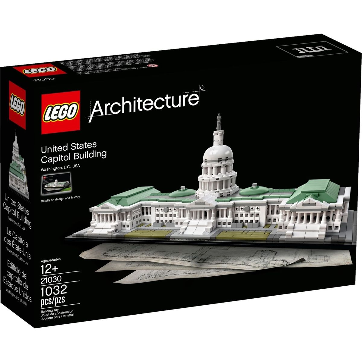 LEGO Architecture 21030 Kapitol