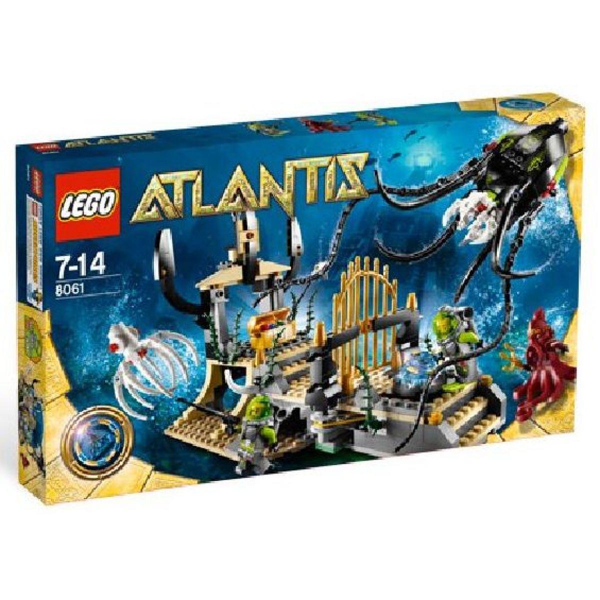 LEGO Atlantis 8061 Oliheň střeží bránu