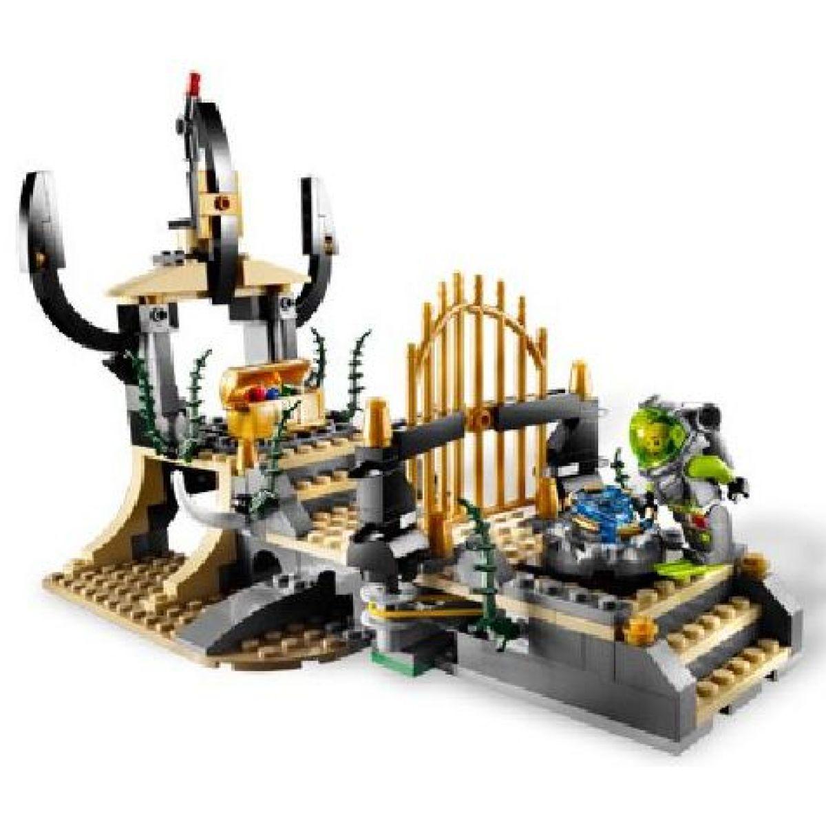 LEGO Atlantis 8061 Oliheň střeží bránu #2