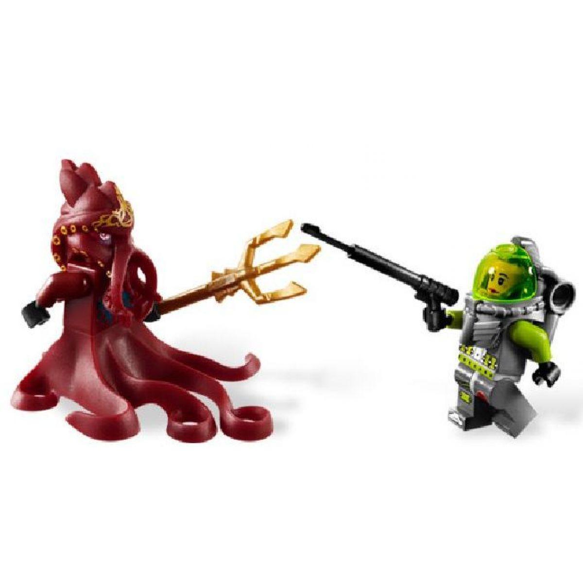 LEGO Atlantis 8061 Oliheň střeží bránu #3