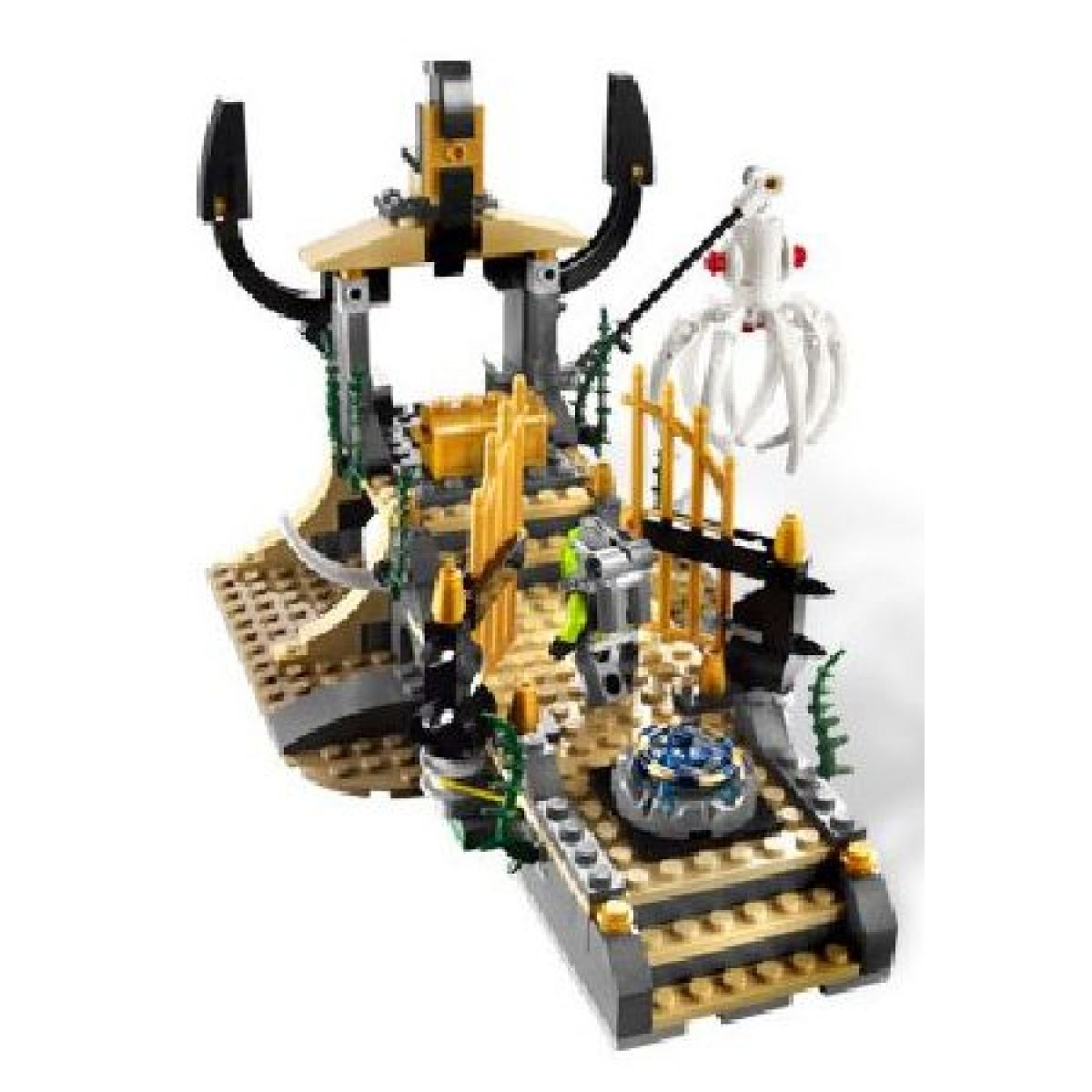 LEGO Atlantis 8061 Oliheň střeží bránu #5