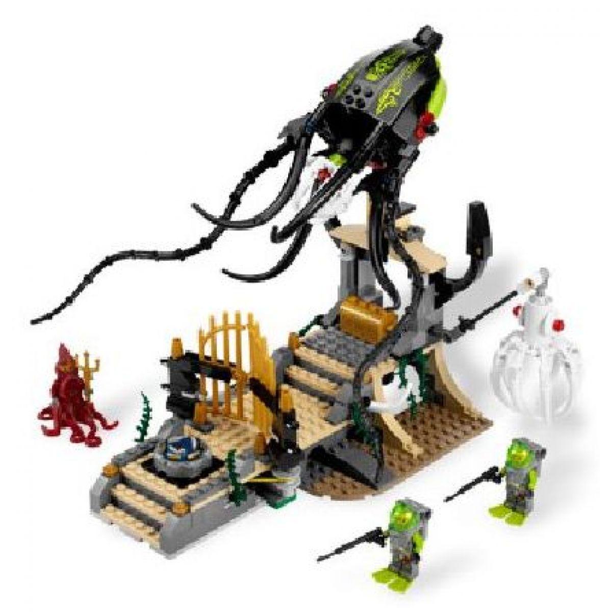 LEGO Atlantis 8061 Oliheň střeží bránu #6