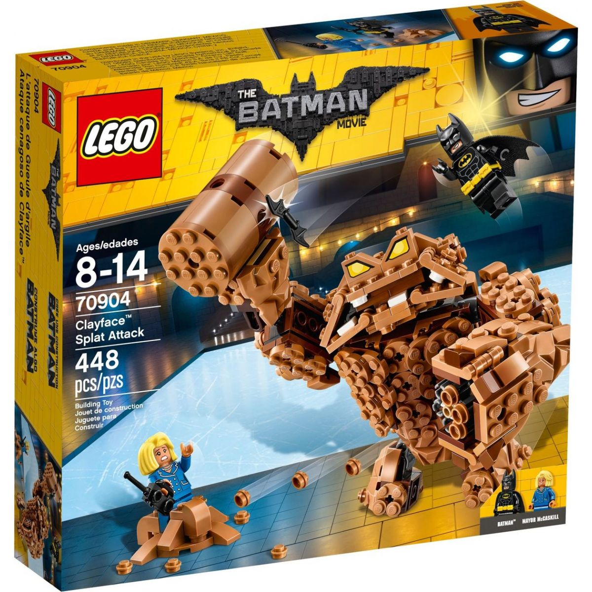 LEGO Batman 70904 Clayfaceův bahnitý útok