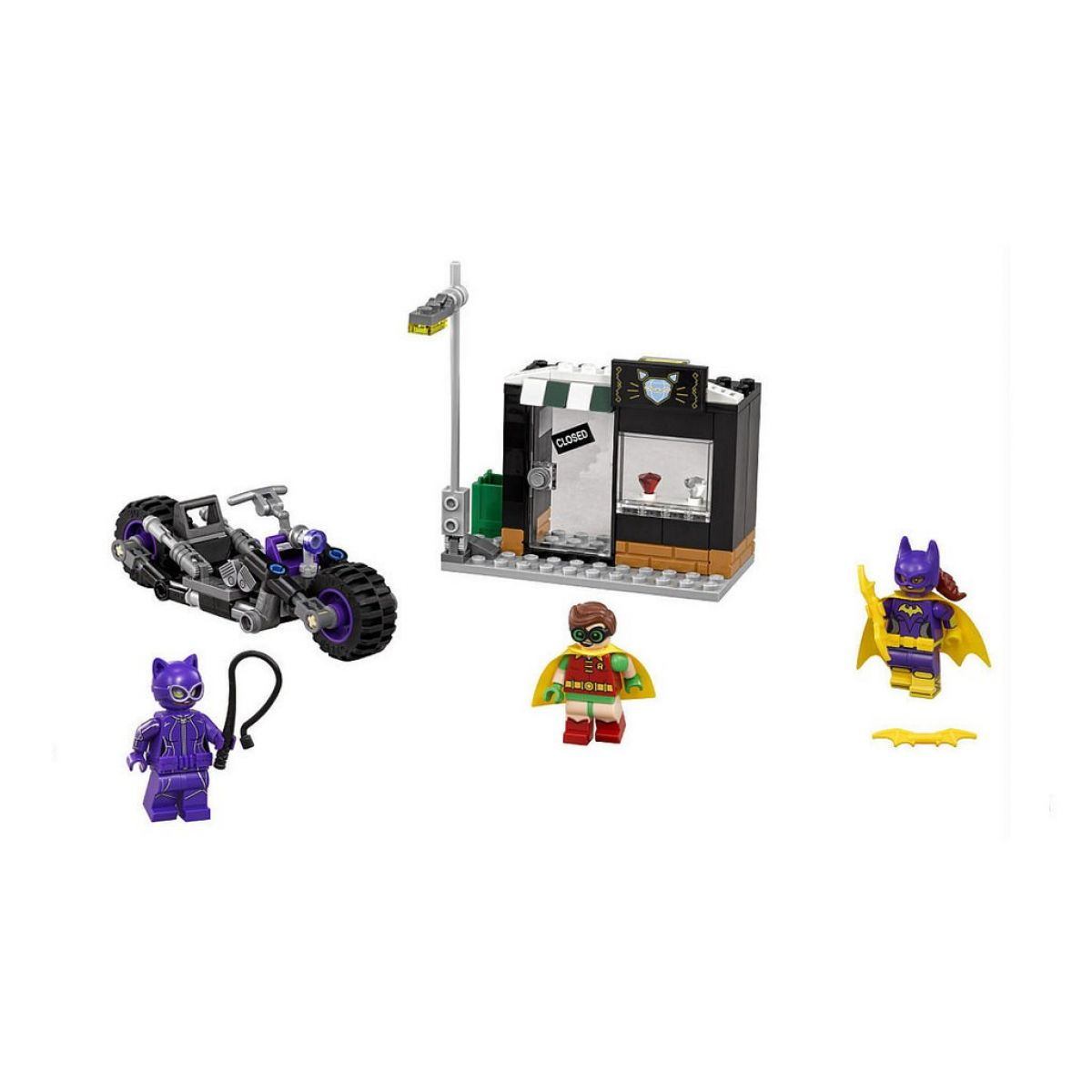LEGO Batman Movie 70902 Catwoman a honička na Catcycle #2