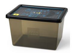 LEGO Batman úložný box L transparentní černá