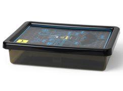 LEGO Batman úložný box S transparentní černá
