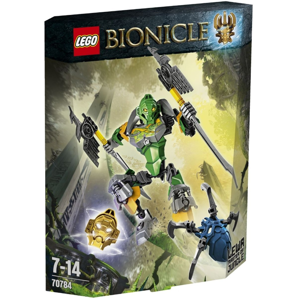 LEGO Bionicle 70784 Lewa – Pán džungle