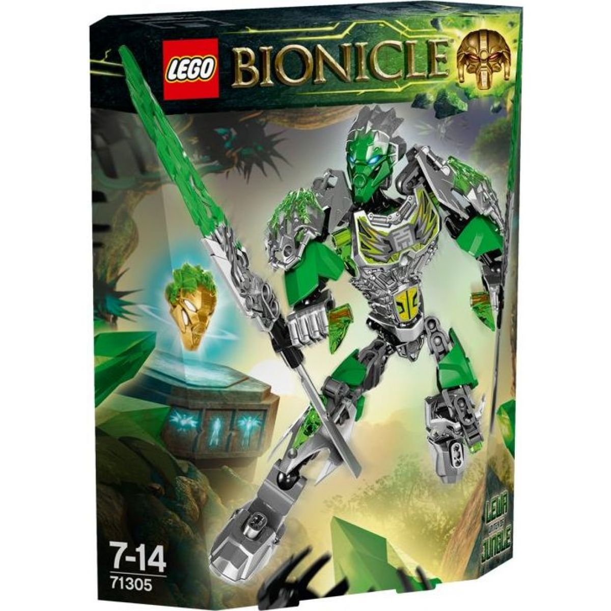 LEGO Bionicle 71305 Lewa Sjednotitel džungle