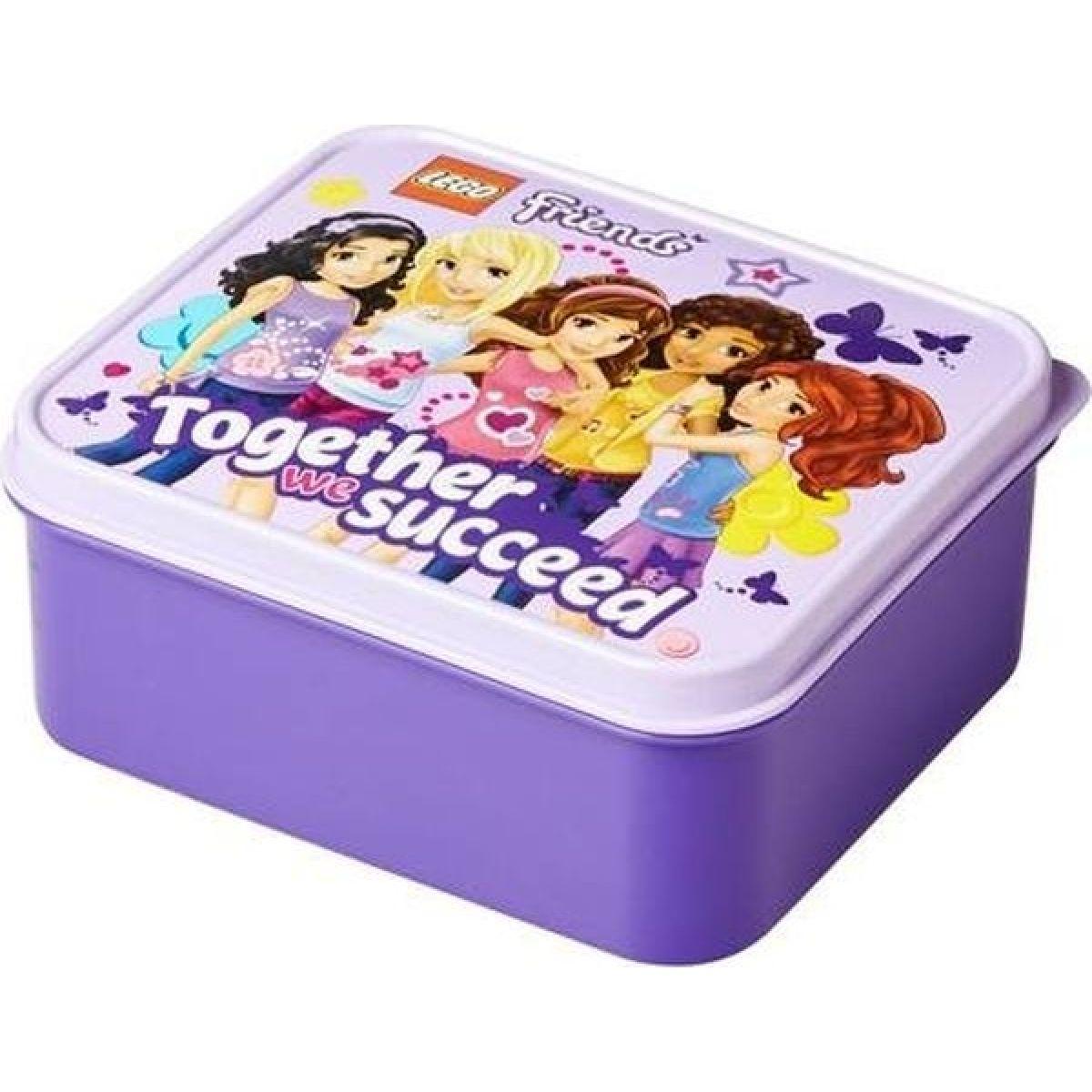 LEGO Box na svačinu - Friends fialový