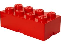 LEGO Box na svačinu 10x20x7,5cm Červená