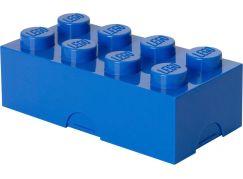 LEGO Box na svačinu 10x20x7,5cm Modrá