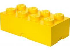 LEGO Box na svačinu 10x20x7,5cm Žlutá