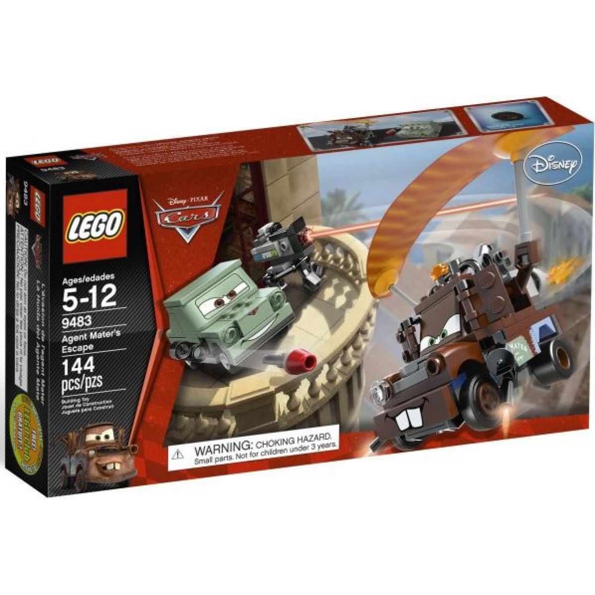 LEGO Cars 9483 Agent Burák na útěku
