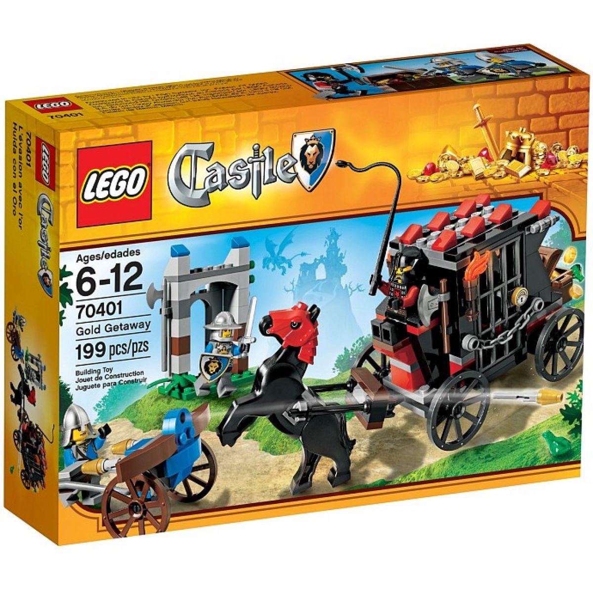 LEGO Castle 70401 Uloupený zlatý poklad