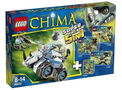 LEGO Chima 66491 Super pack 5v1