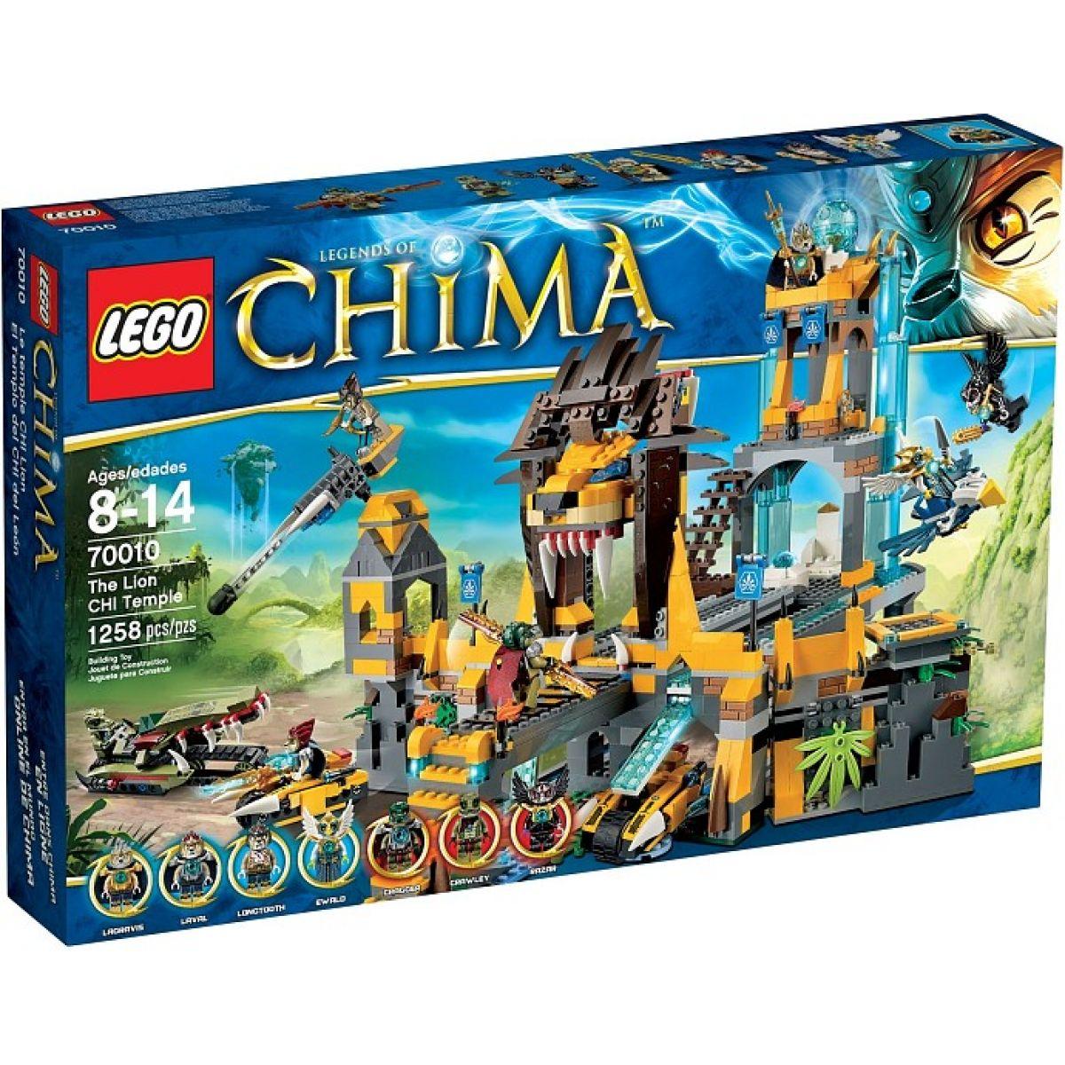 LEGO CHIMA 70010 Lví chrám CHI