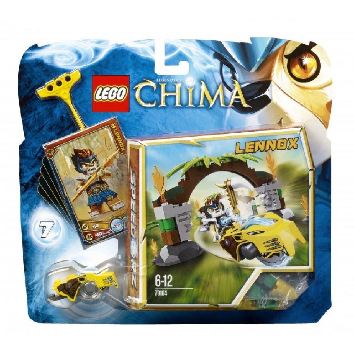 LEGO Chima 70104 Brány do džungle