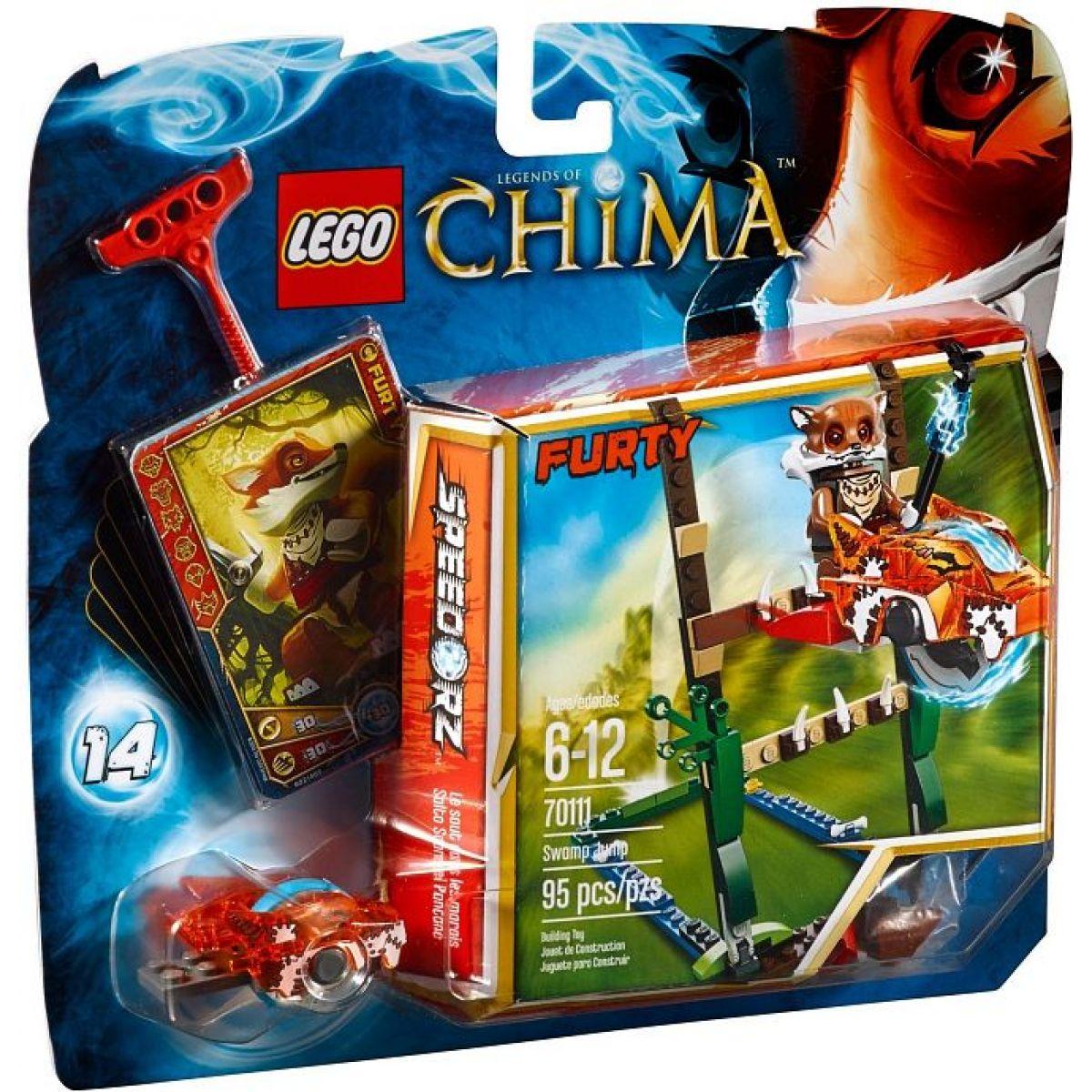 LEGO Chima 70111 Skok přes bažinu