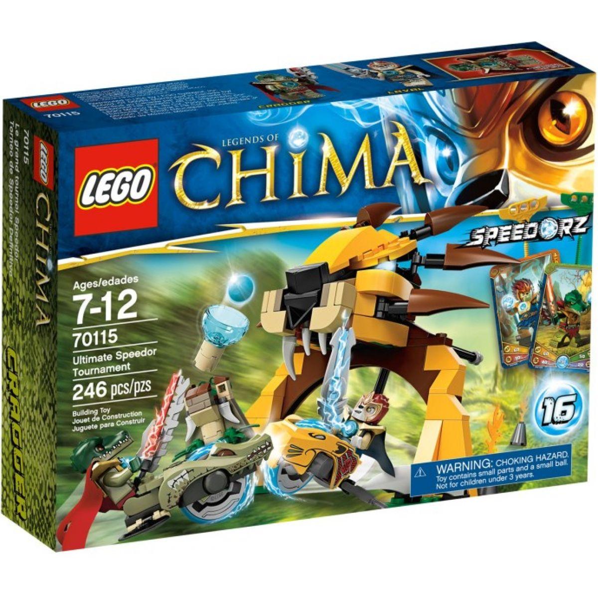 LEGO Chima 70115 Rozhodující turnaj Speedorů