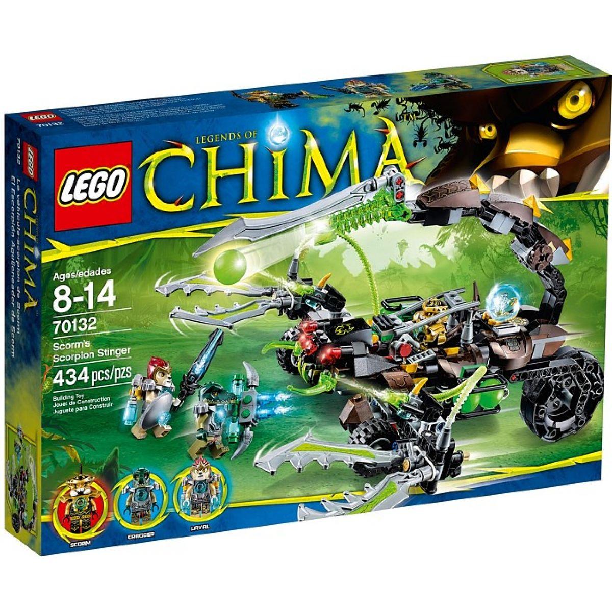 LEGO Chima 70132 Scormův škorpióní útočník