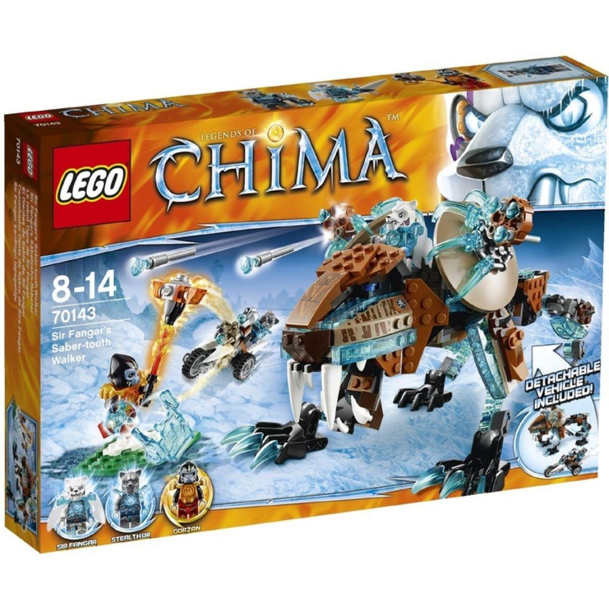 LEGO Chima 70143 Šavlozubý robot sira Fangara