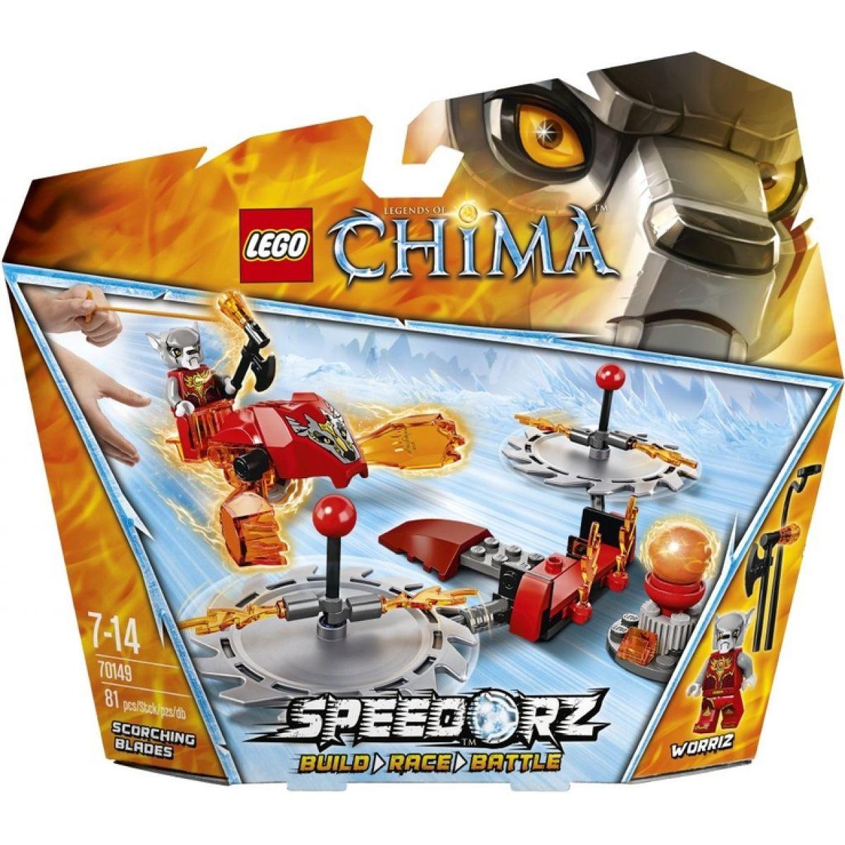 LEGO Chima 70149 Žhnoucí čepele