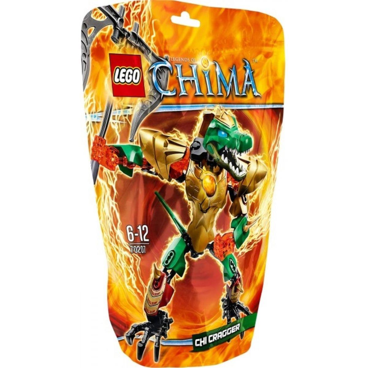 LEGO Chima 70207 Cragger - Oheň