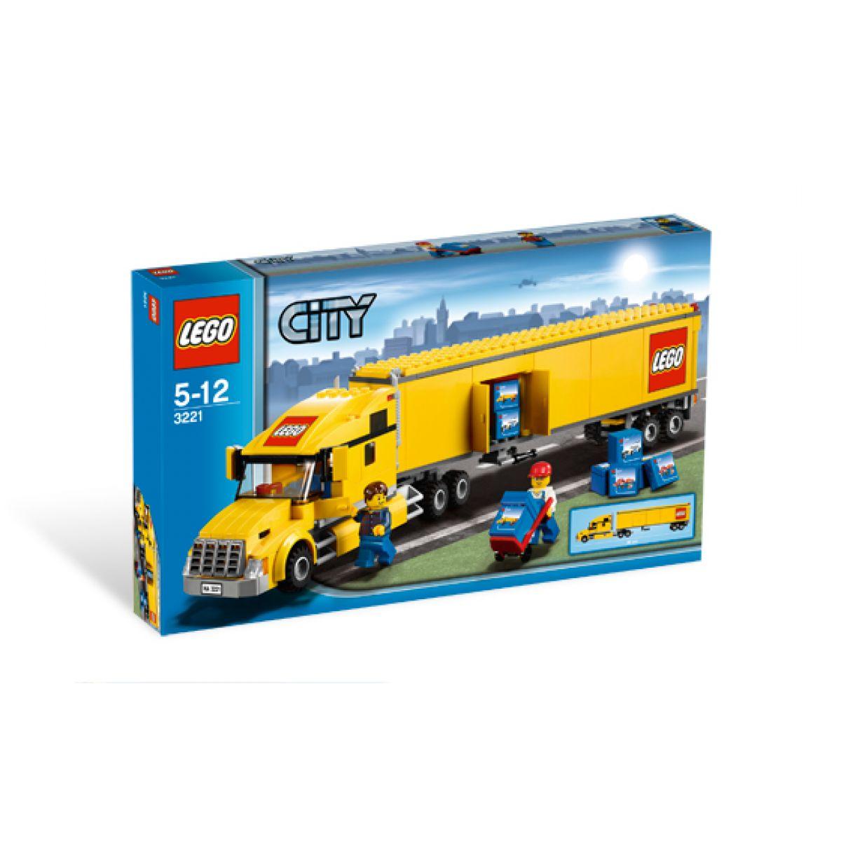 LEGO CITY 3221 Nákladní Truck