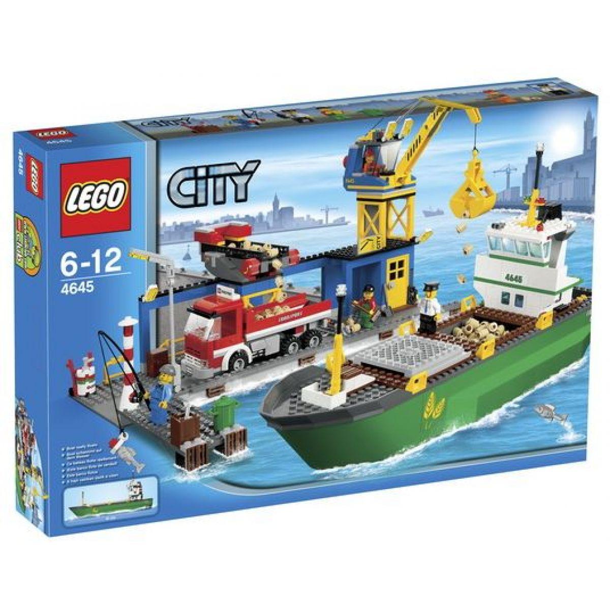 LEGO CITY 4645 Přístav