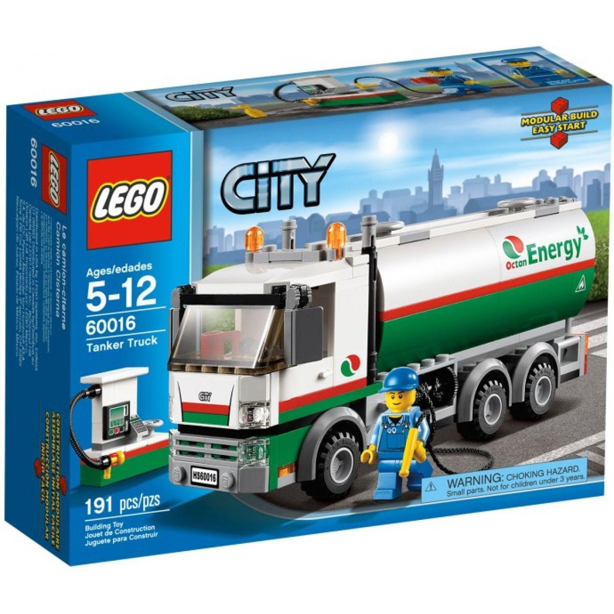 LEGO City 60016 Cisterna