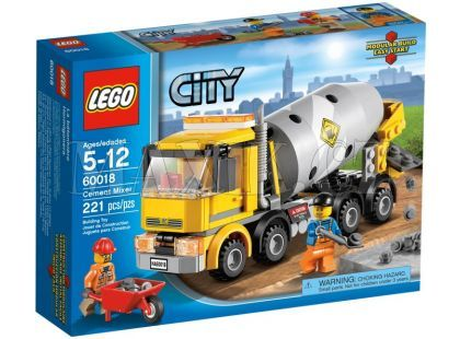 LEGO City 60018 Míchačka