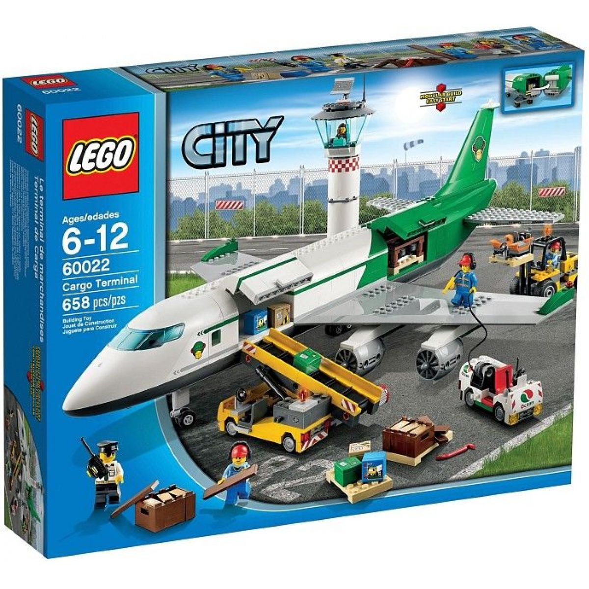 LEGO City 60022 Nákladní terminál