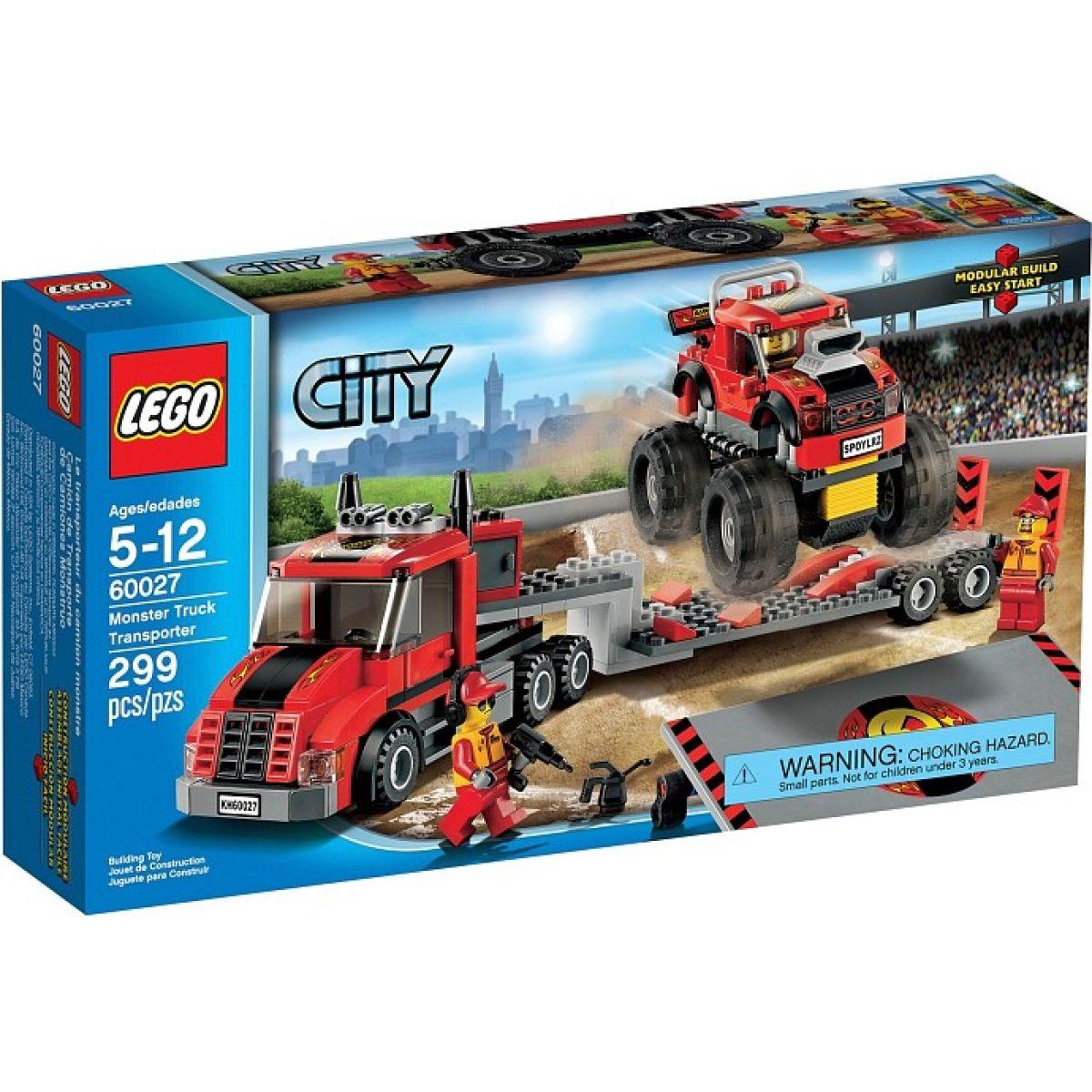LEGO City 60027 Transportér Monster trucků