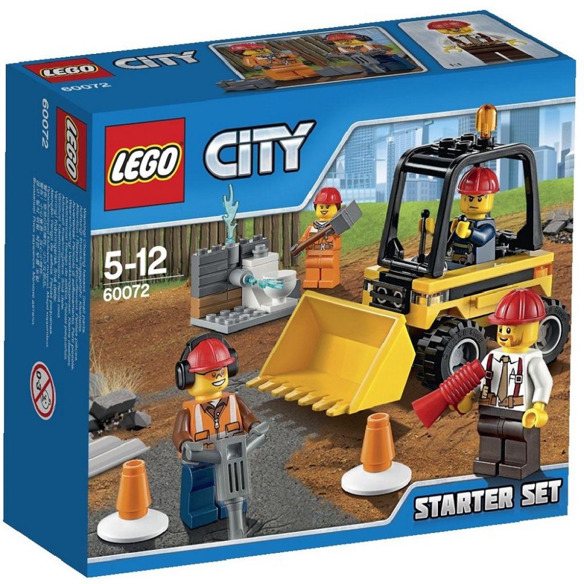 LEGO City 60072 Demoliční práce Startovací sada