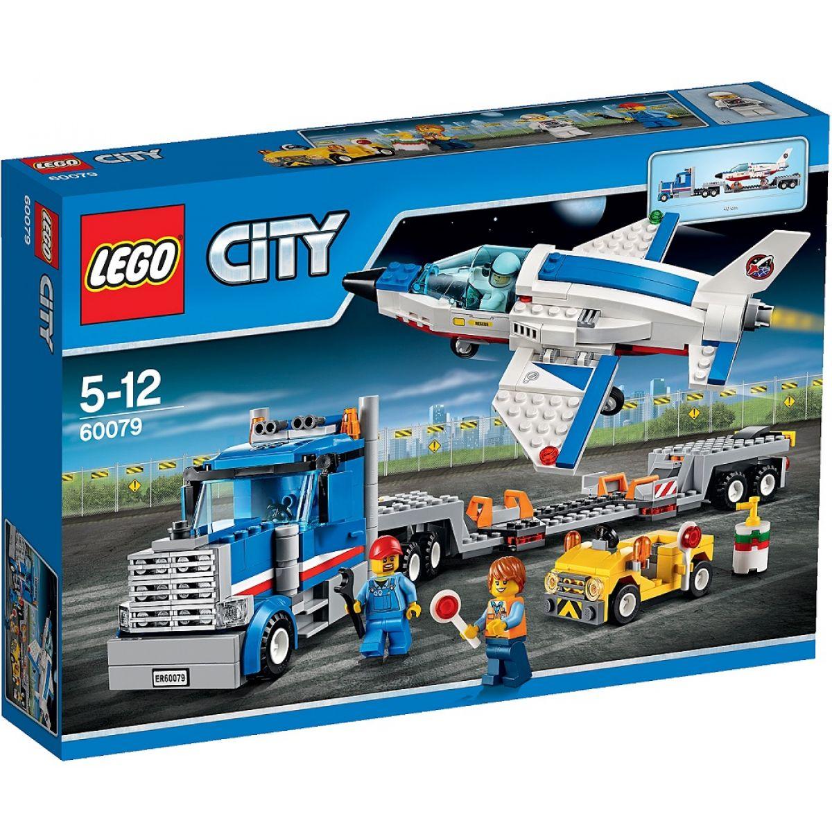 LEGO City 60079 Transportér pro převoz raketoplánu