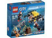 LEGO City 60091 Hlubinný mořský výzkum Startovací sada
