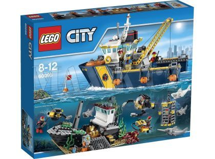 LEGO City 60095 Plavidlo pro hlubinný mořský výzkum