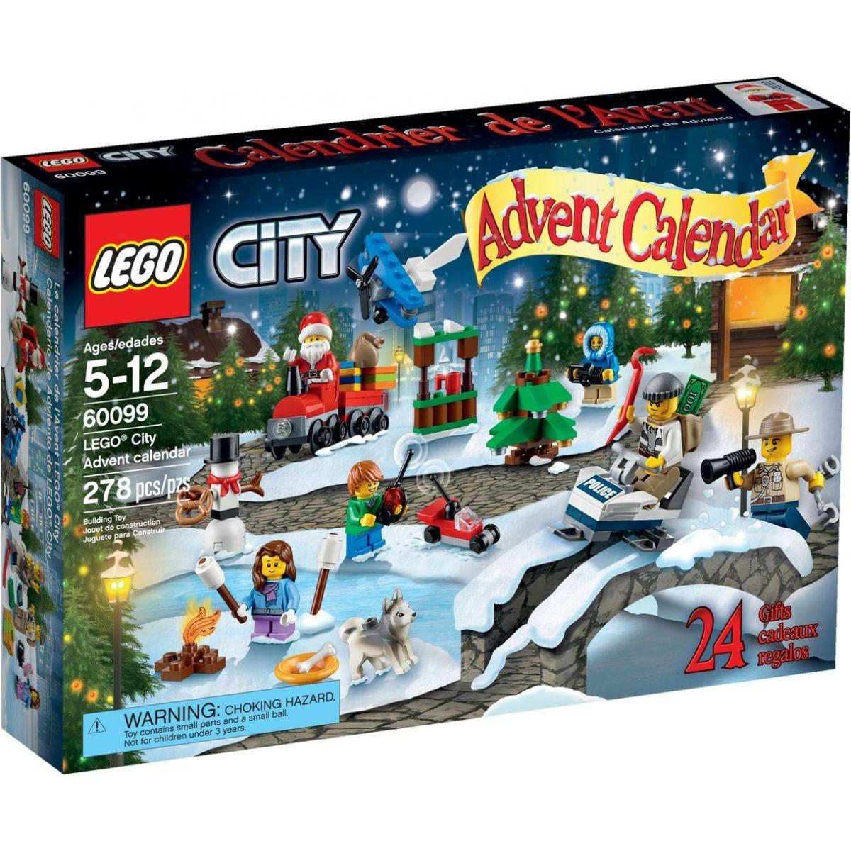 LEGO CITY 60099 Adventní kalendář