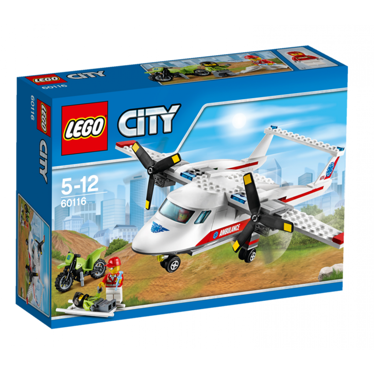 LEGO City 60116 Záchranářské letadlo