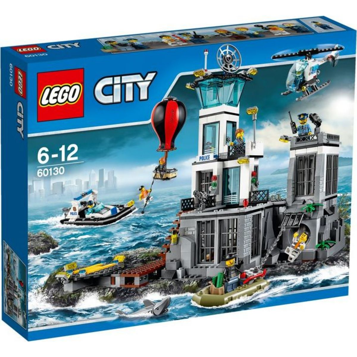 LEGO City 60130 Vězení na ostrově - Poškozený obal