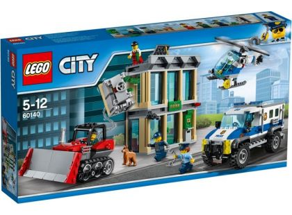 LEGO City 60140 Vloupání buldozerem