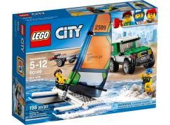 LEGO City 60149 4x4 s katamaránem
