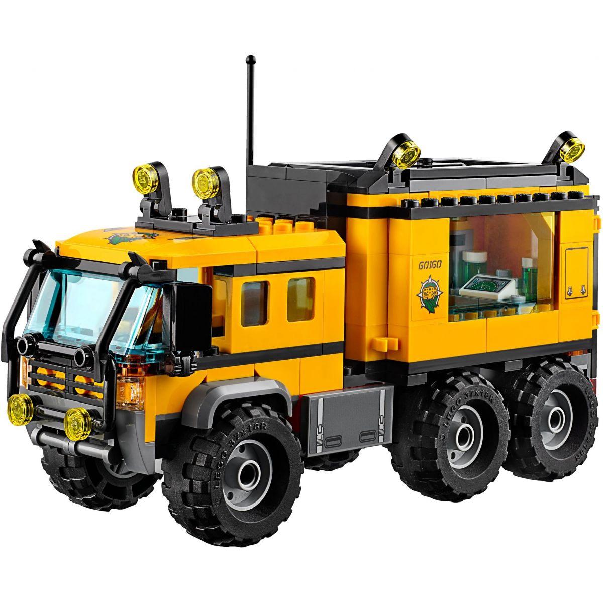 LEGO City 60160 Mobilní laboratoř do džungle #2