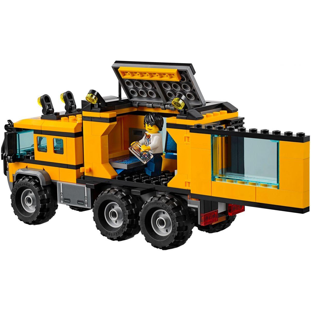 LEGO City 60160 Mobilní laboratoř do džungle #3