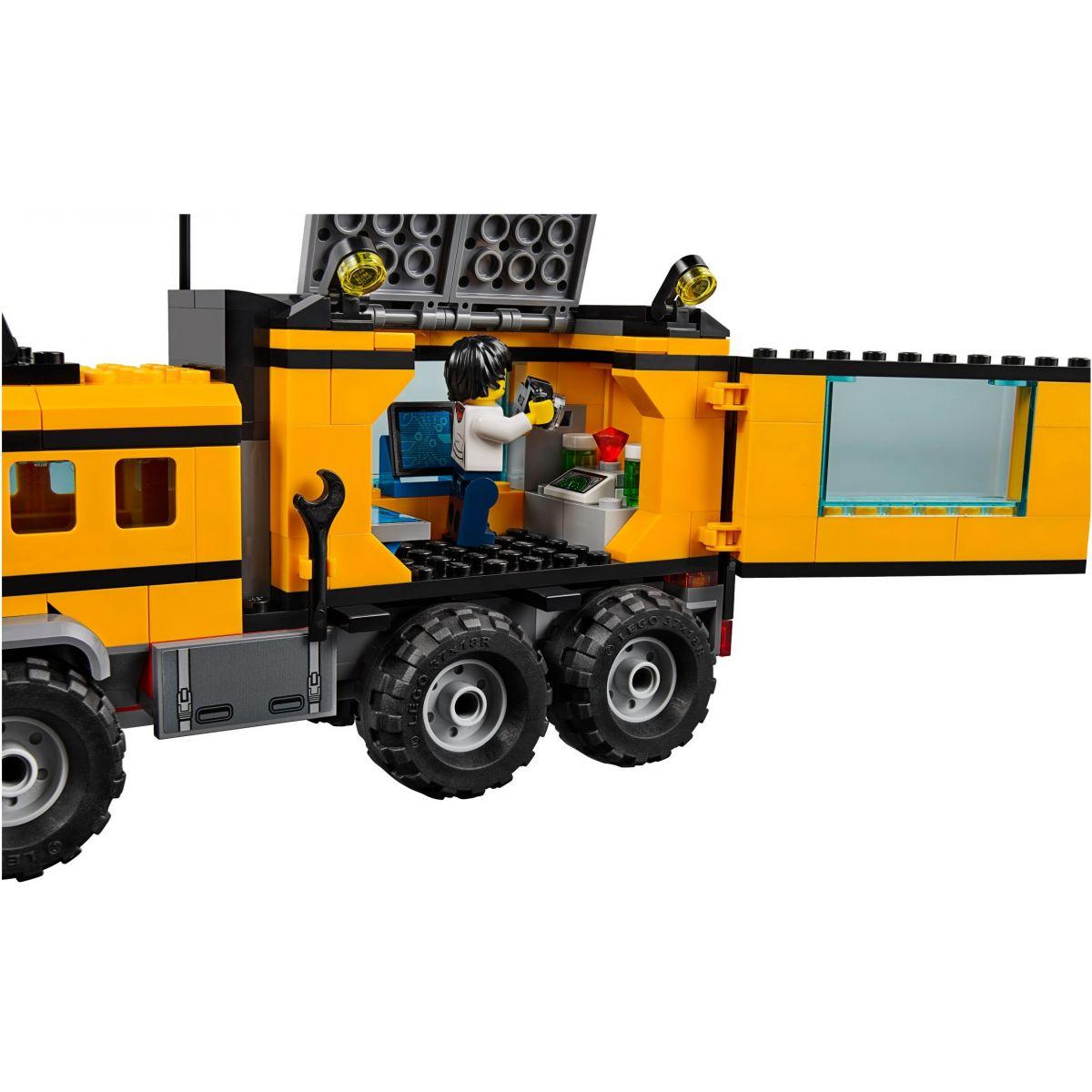 LEGO City 60160 Mobilní laboratoř do džungle #4