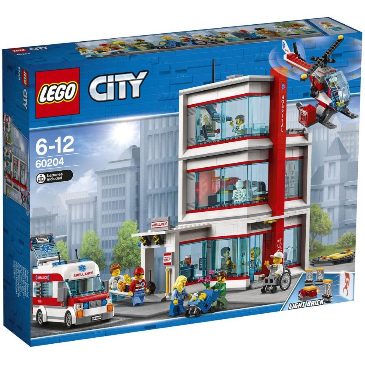 LEGO City 60204 Nemocnice - Poškozený obal