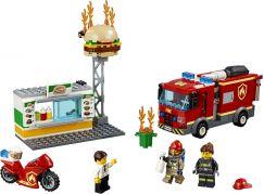 LEGO City 60214 Záchrana burgrárny - Poškozený obal